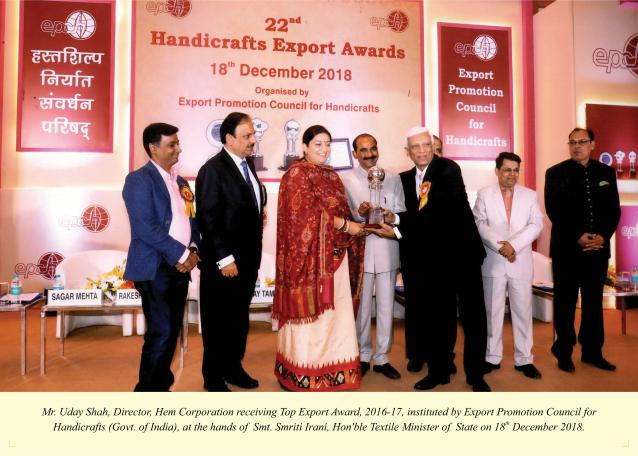 HEM Group bags top exporter award  from Federation of Indian Exports Organisation 4th year in a row